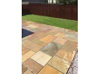 Indian Sandstone Installer £150 per 15sqm laid