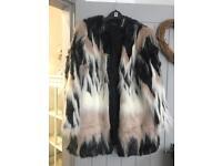 Simply B fur coat