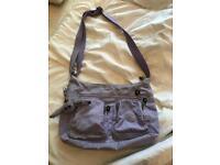"""Lilac """"Kipling"""" shoulder bag"""