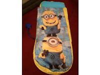 Air bed/ Ready bed / child's / minions