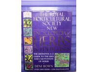 Royal Horticultural Society New Encyclopaedia of Herbs & Their Uses hardback book