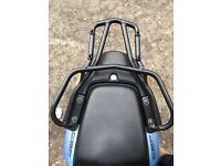 honda cbf 600 luggage rack swap for grab bars