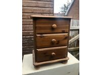 Wooden Bed Side Cabinet - £10 - TEXTS ONLY PLEASE!