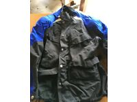 Yes motorcycle jacket size 44UK with zip in liner. As new.