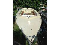 NEEDED GONE - Wayfarer Sailing Dinghy Mk.II (No Spars, Two Cracks)