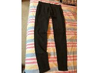 Calzedonia anthracite leggings, slim fit, Medium size, 2nd hand