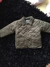 Boys quilted next jacket