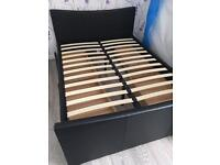 King Size Bed Frame with 4 drawers