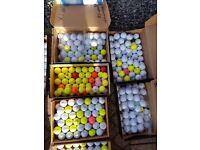 Golf balls all makes