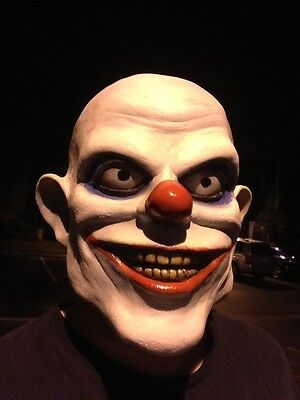 Everything Floats Clowki the Evil Clown Mask 3/4 head Joker Jester Killer - The Joker Clown Mask