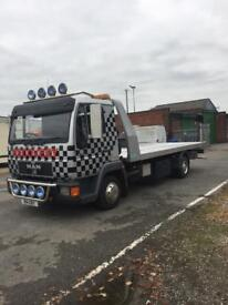 Man recovery truck for sale