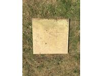 Used utility paving slabs - 400x400x25mm - 19 available