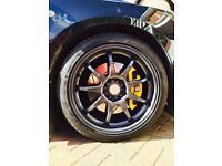 "Rota P1 alloys with Eagle F1 tyres 18"" (225 40) 5x114.3"