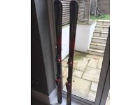 Men's skis Rossignol (170cm) - include Poles