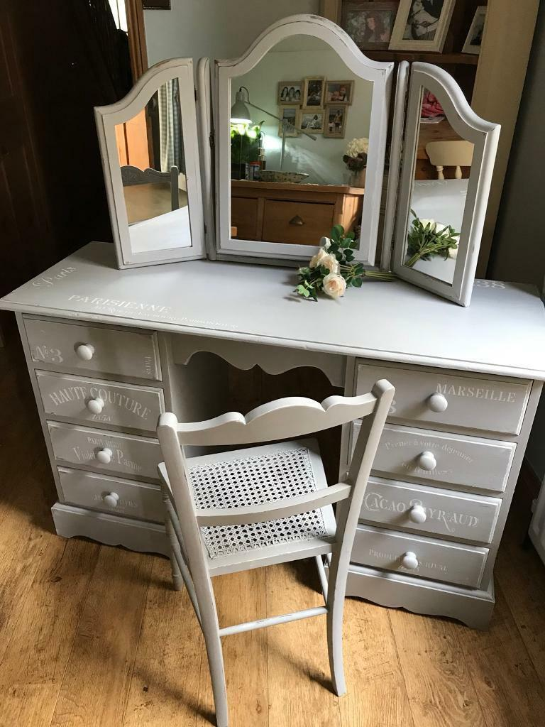Dressing Table Chair And Mirror In Portland Dorset Gumtree