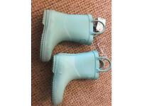 Girls infant size 4 wellies