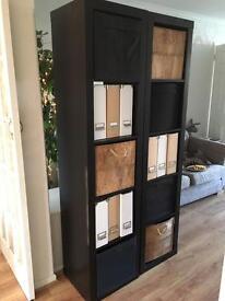 2x storage units/ shelves/ bookcase