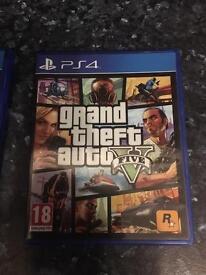 Playstation ps 4 Grand theft Auto V