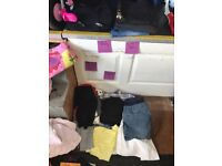 Bundle of size 12 maternity clothes