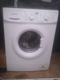 DAEWOO WASHING MACHING 6kg 1200 spin £85 CAN DELIVER LOCAL TO NOTTINGHAM