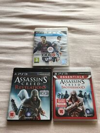 Ps3 game bundle Assassins Creed Brotherhood/Revelations & Fifa 14 for £5