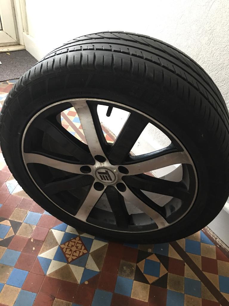 VW T5 alloy wheels 18inch