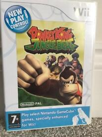 Used Donkey Kong Jungle Beat Nintendo Wii Game
