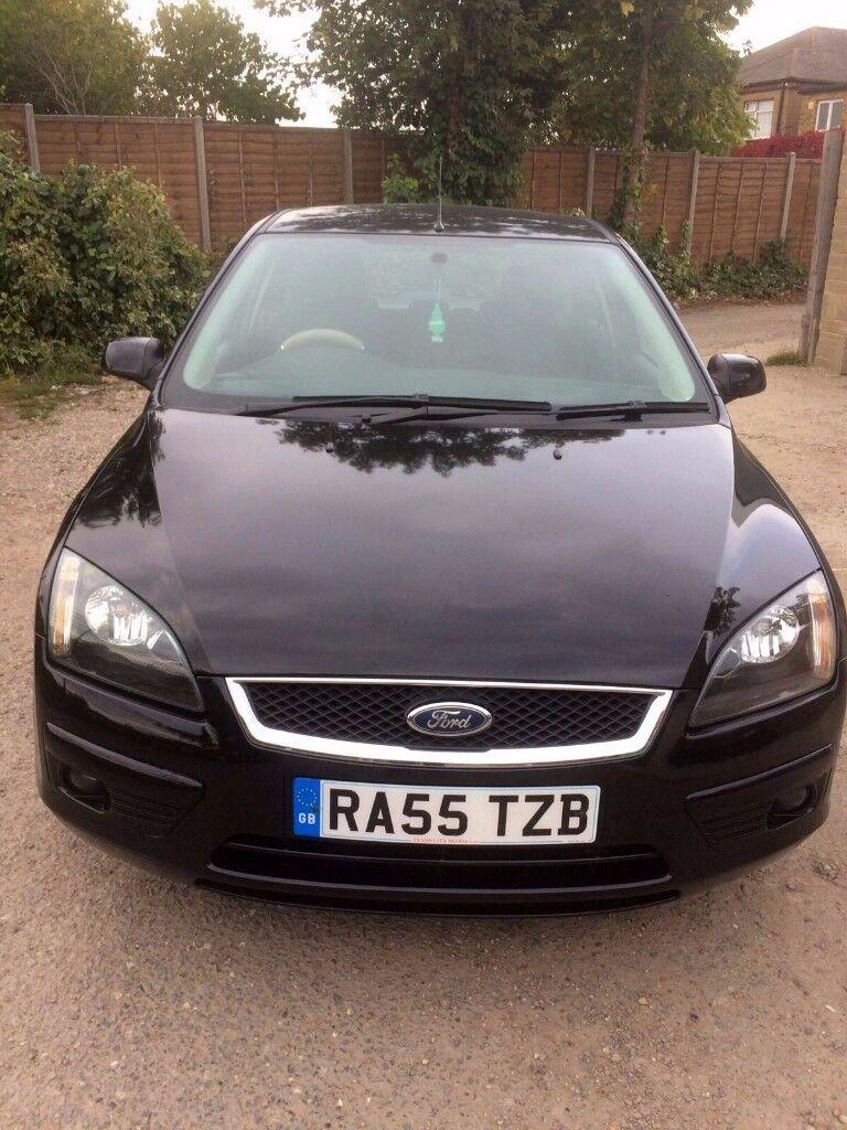 Black Ford Focus 2005