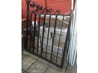 Sturdy iron gates for sale £140 o.n.o