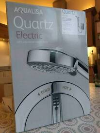 Aqualisa Quartz 10.5Kw shower - brand new in unopened box