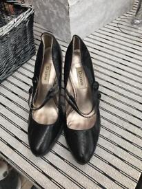 Dune Black Heels