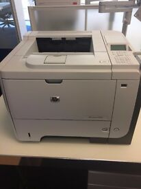 HP Laserjet P3015 Printer. Barely Used. Up to 40 pages per minute.