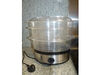 FOOD STEAMER.HEALTHY COOKING OPTION. ONLY £5