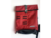 Messenger bag, Ortlieb, Commuter Daypack City, waterproof, 21 l, dark chilli, brand new.