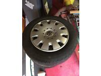 Vw t5 transporter wheels and tyres.