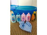 Baby bath and products