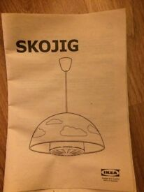 Ikea children's ceiling light