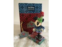 """Disney Traditions Mickey Mouse """"Sew Brave"""" Figurine"""