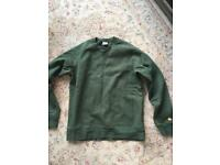 Carhartt green sweater men's medium