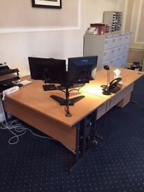 Office Furniture - Available Individually or as a Set - Ideal for Startup Business