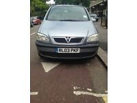 VAUXHALL ZAFIRA 1.9 for sale