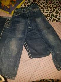 True religion jeans age 6