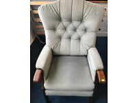 Armchair Easy Chair Button Back Lounge Chair