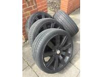 "Landrover discovery 22"" wheels and tyres"