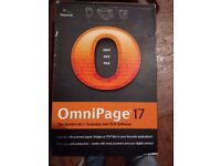 Omnipage 17 Scanning and OCR software Edit images, books reports scanned pages perfect for student
