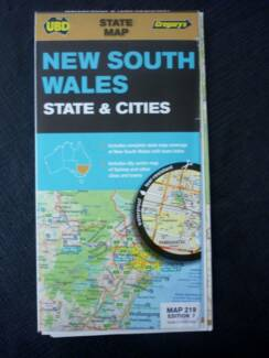 Road Maps - New South Wales (State & Cities) by UBD / Gregory's