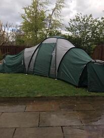 6 berth 3 pod tent