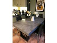 Awesome Dining Table For Sale Dining Tables Chairs Gumtree Bralicious Painted Fabric Chair Ideas Braliciousco