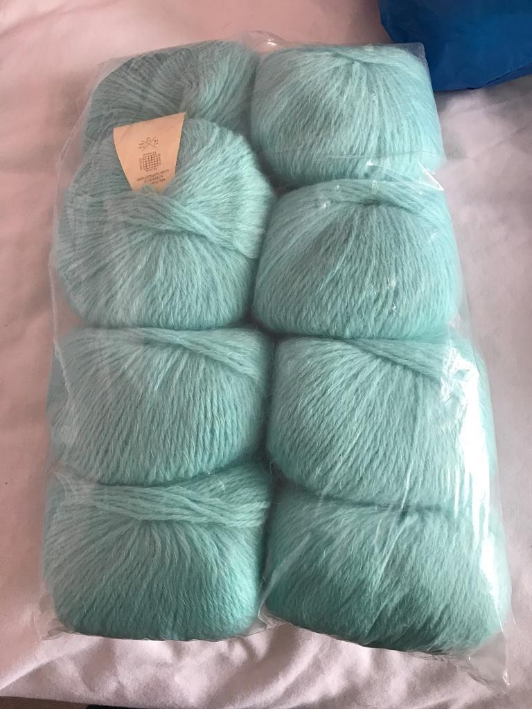 8 balls of gorgeous Rowan kid classic wool