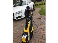 Golf set - Dunlop Max irons - Driver & Woods & Bag